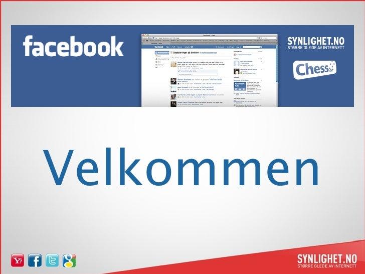 Innledning om Sosiale medier for Facebook