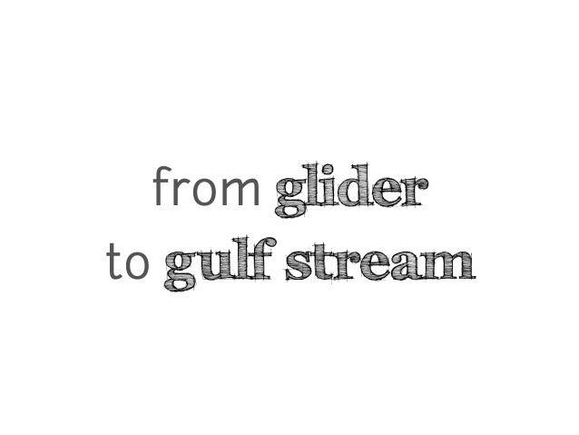 from glider to gulf stream