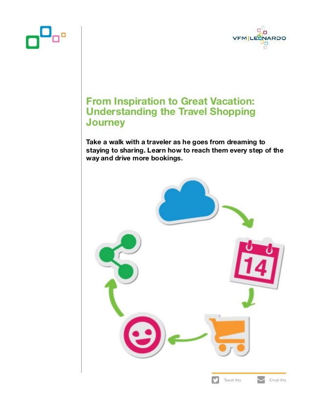Tweet this Email thisFrom Inspiration to Great Vacation:Understanding the Travel ShoppingJourneyTake a walk with a travele...