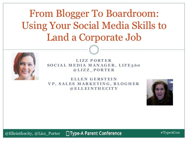 TypeA Con Session - From Blogger to Boardroom