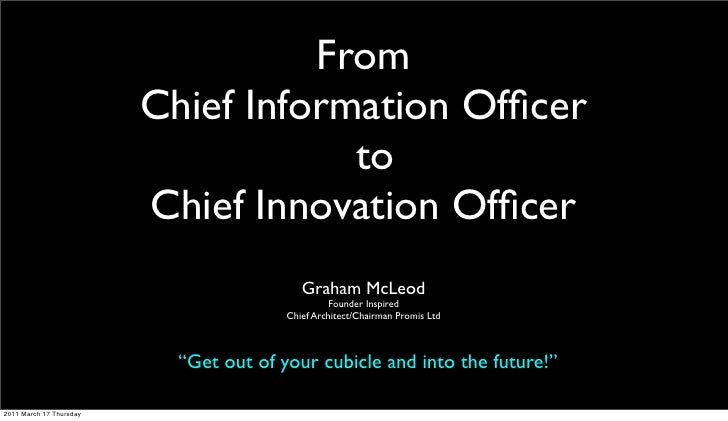 From CIO to CIO
