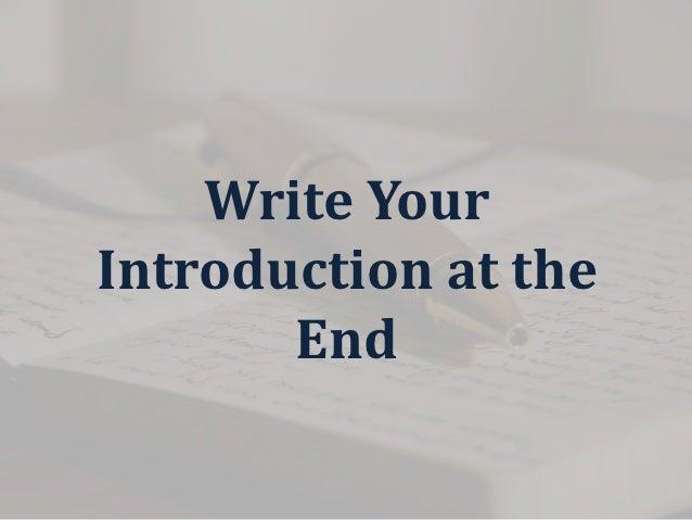 first class essay