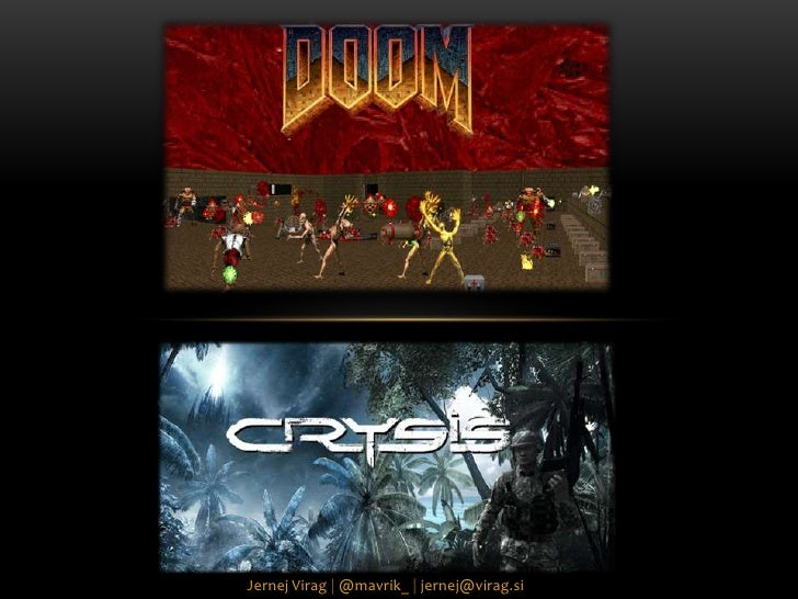 From Doom to Crysis