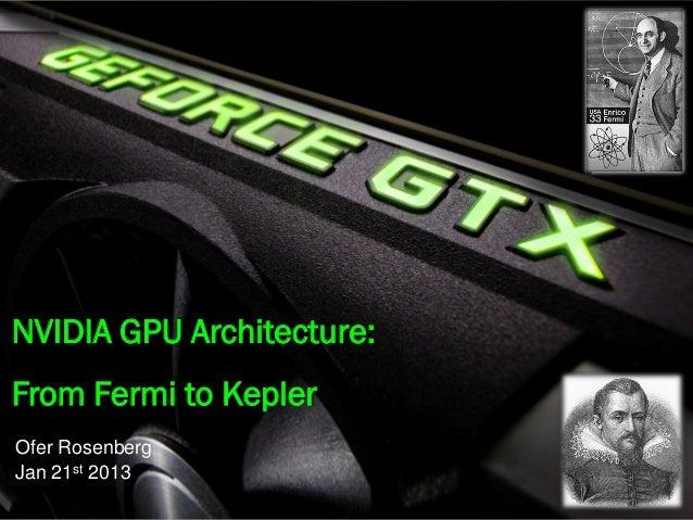 From fermi to kepler