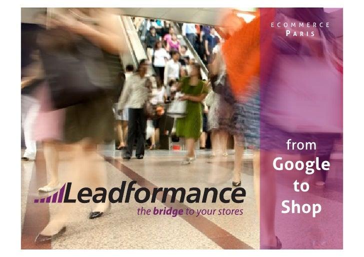 E CO M M E R C E    PARIS         from Google   to  Shop