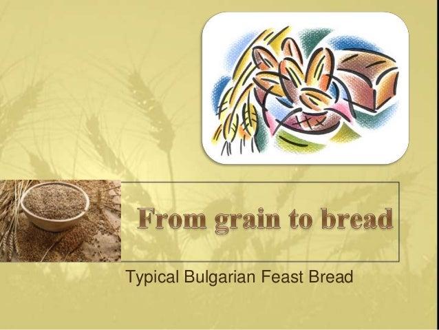 Typical Bulgarian Feast Bread