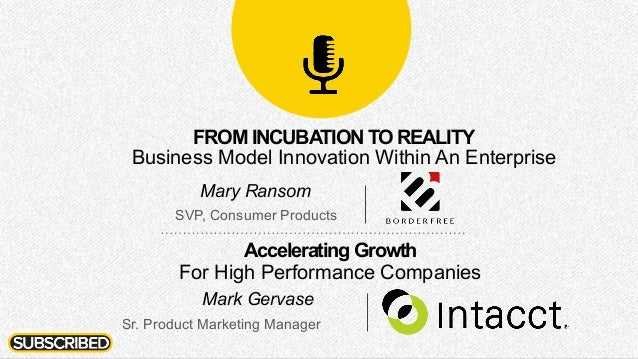 Mary Ransom SVP, Consumer Products Mark Gervase Sr. Product Marketing Manager Accelerating Growth For High Performance Com...