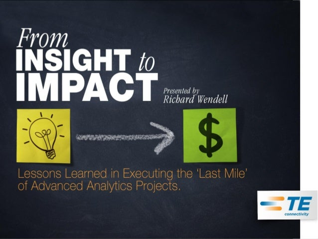 From Insight to Impact (Chicago Summit - Keynote)