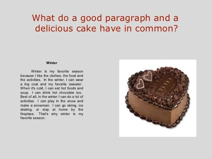 my favorite food writing template
