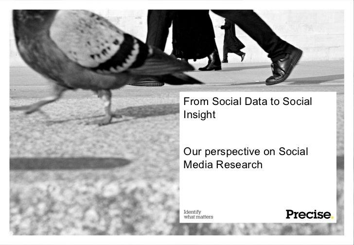 From social data to social insight