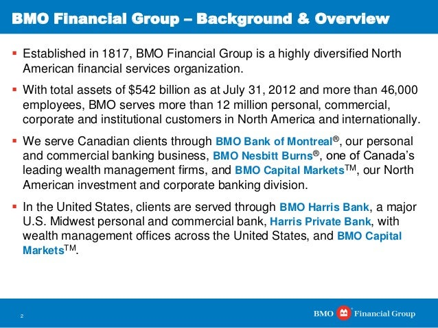 Bmo financial history facts websites