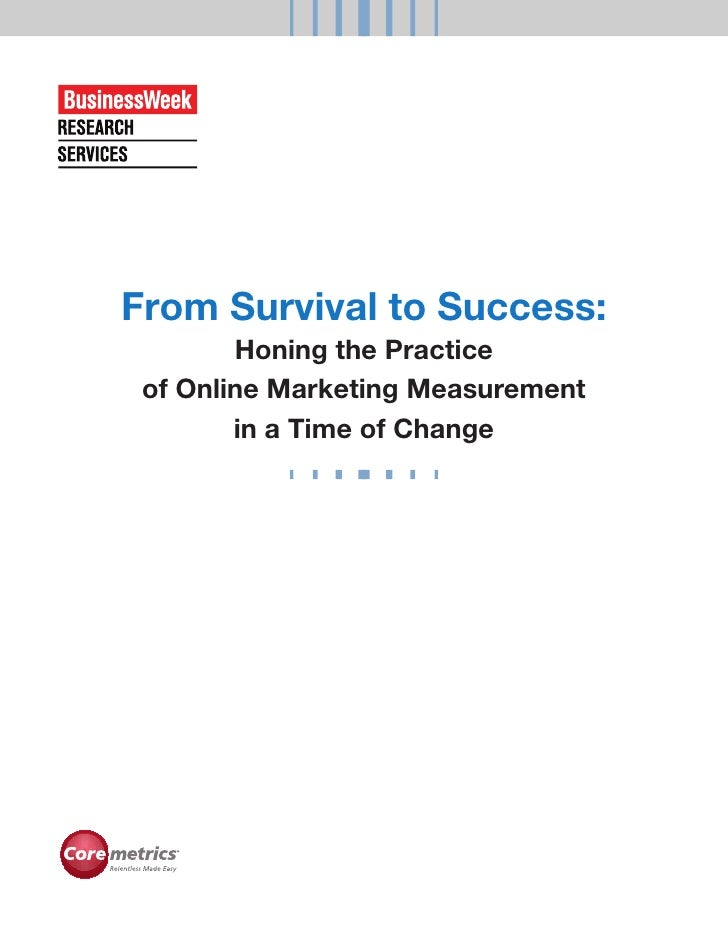 From Survival To Success White Paper