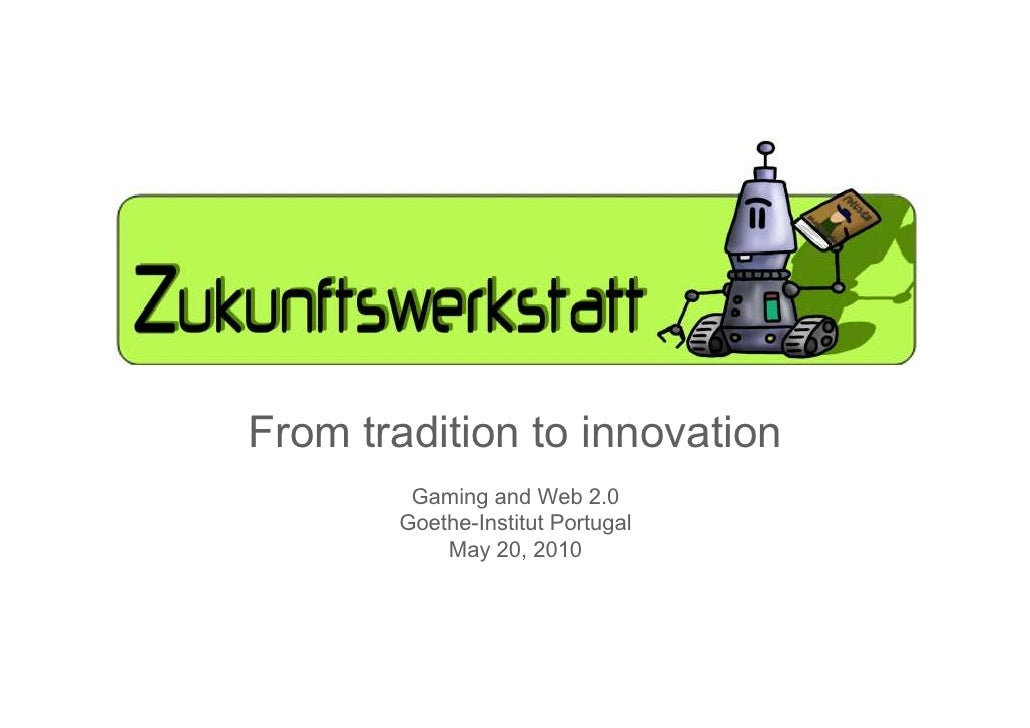 From tradition to innovation, by Julia Bergmann