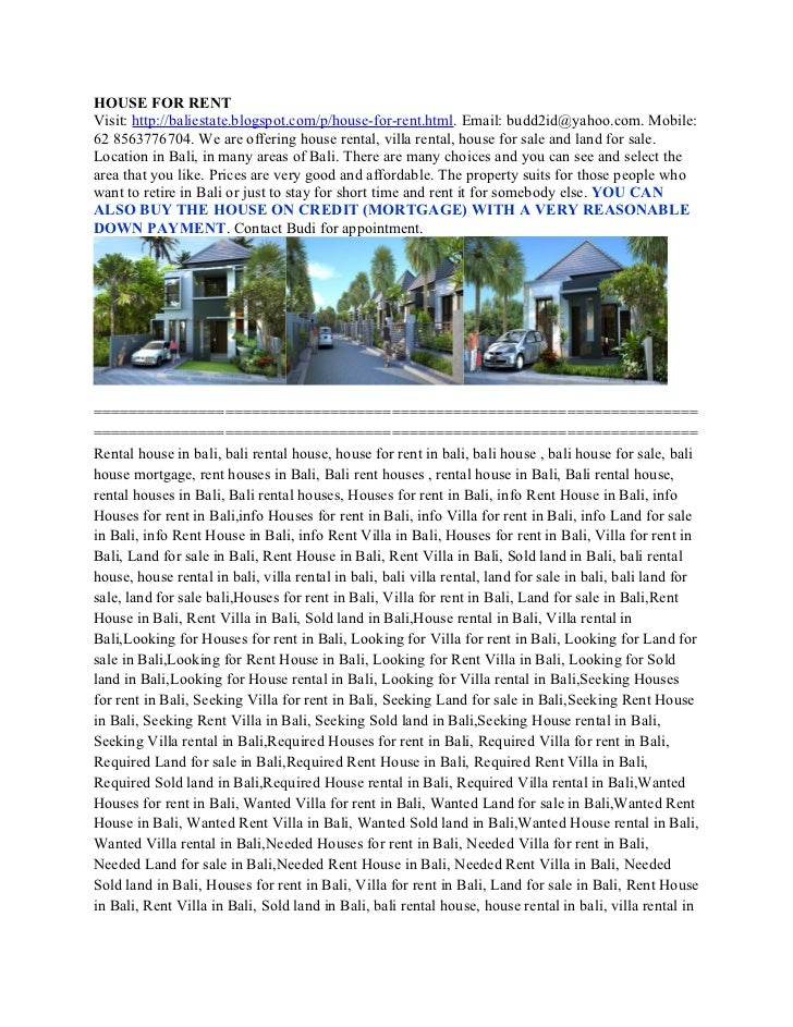 From us$ 3000,00 per year ph  62 8563776704,  seeking house rental in jimbaran, required houses for rent in jimbaran, required house for rent in jimbaran, required land for sale in jimbaran
