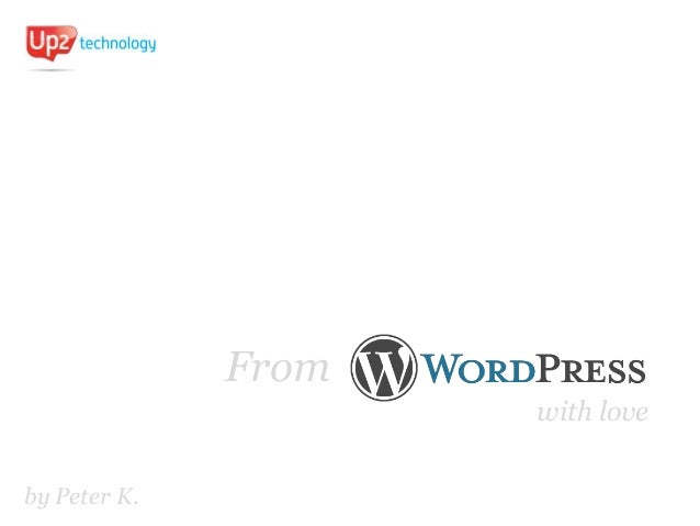 From WordPress With Love