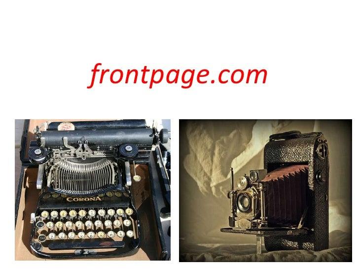 frontpage.com<br />