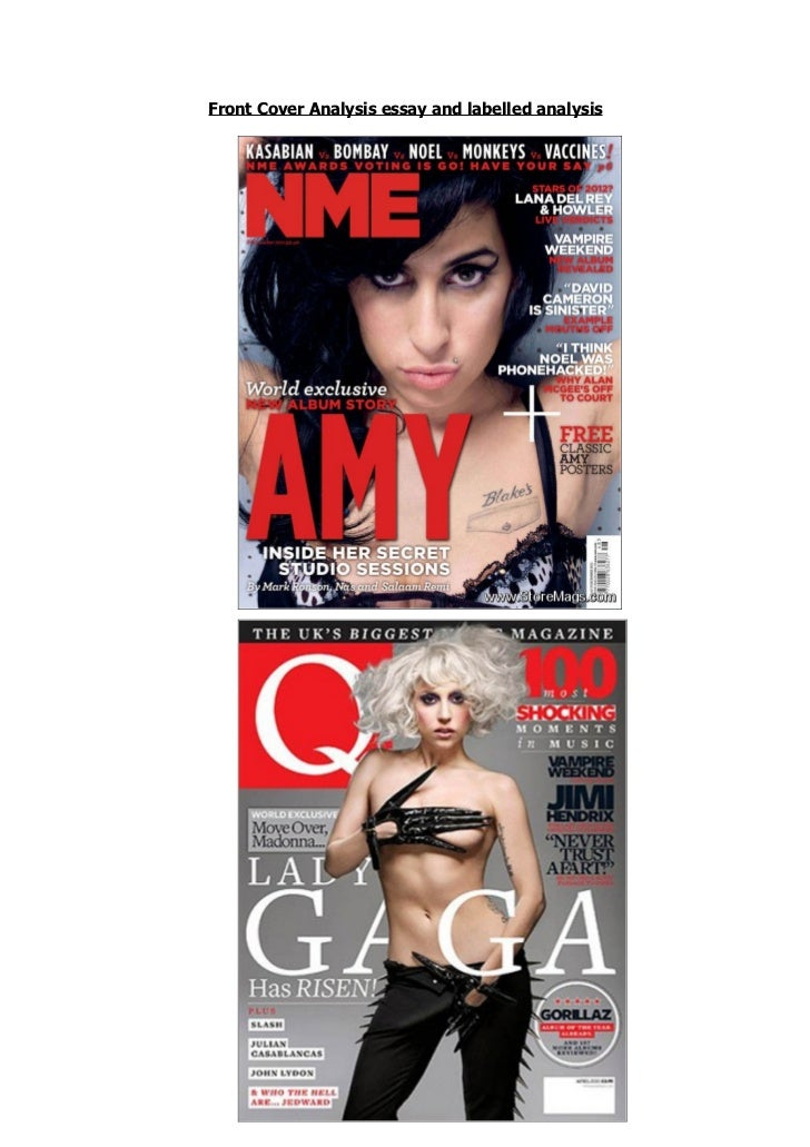 magazine cover analysis essay This essay will consider whether the men's magazine analysis - the magazine i have for men's style 33 pages of the magazine cover style and.