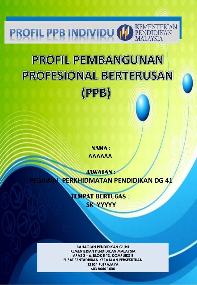BAHAGIAN PENDIDIKAN GURU KEMENTERIAN PENDIDIKAN MALAYSIA ARAS 2 – 6, BLOK E 13, KOMPLEKS E PUSAT PENTADBIRAN KERAJAAN PERS...
