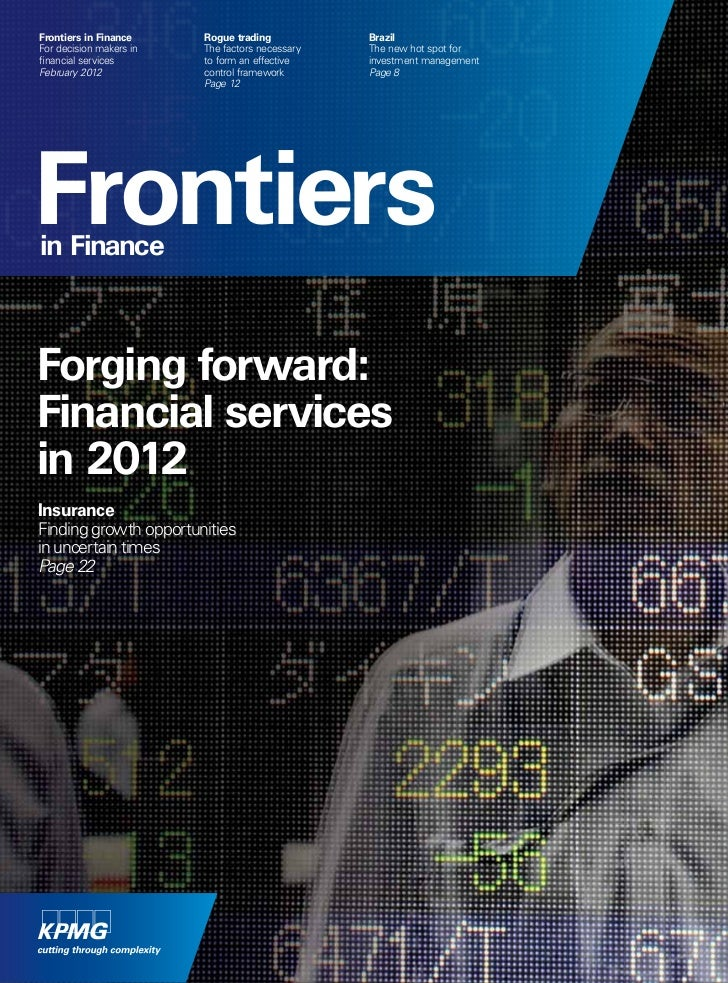 Frontiers in finance magazine - February 2012