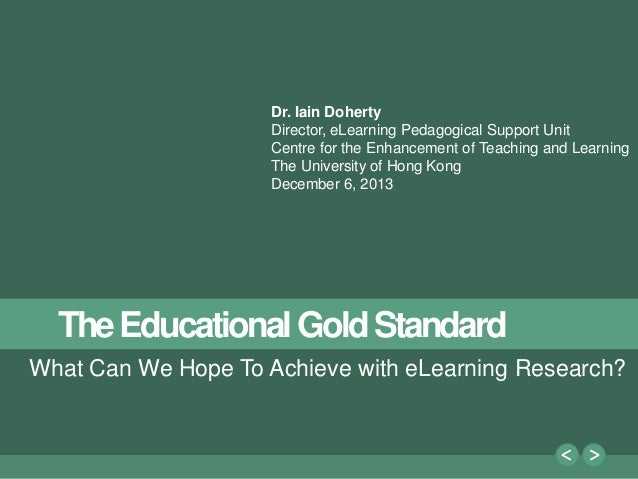1 Dr. Iain Doherty Director, eLearning Pedagogical Support Unit Centre for the Enhancement of Teaching and Learning The Un...