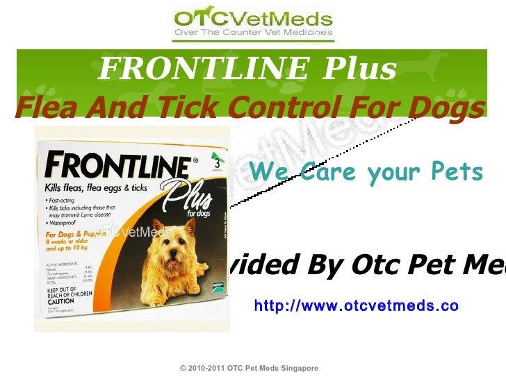 We Care your Pets © 2010-2011 OTC Pet Meds Singapore   http://www.otcvetmeds.com Provided By Otc Pet Meds FRONTLINE   Plus...