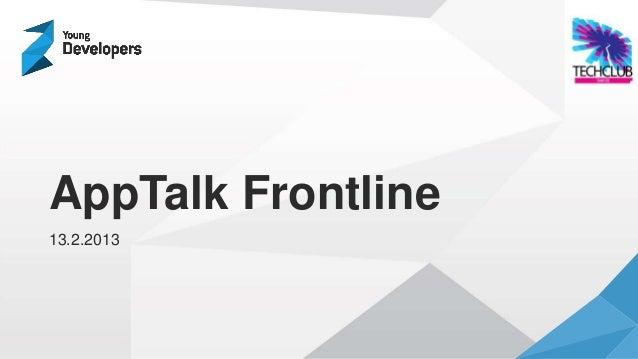 AppTalk Frontline: Web vs Hybrid vs Native