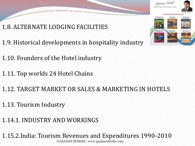 hospitality industry and the malaysian