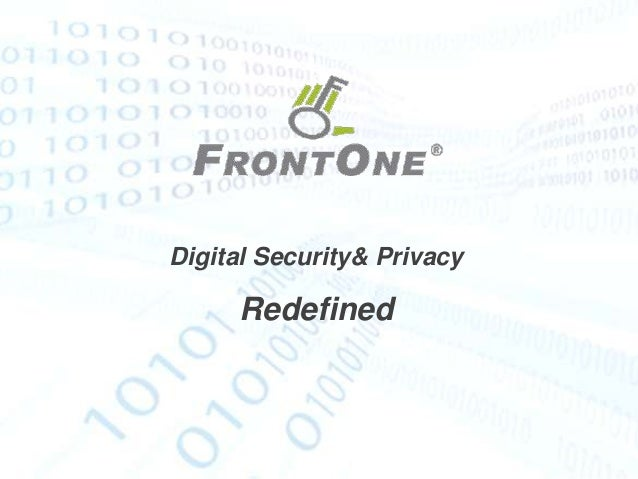 Digital Security& Privacy     Redefined