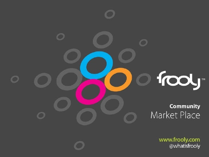 Frooly Community Marketplace