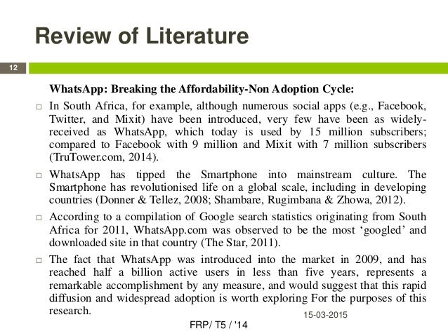 Literature review on customer satisfaction in newspaper