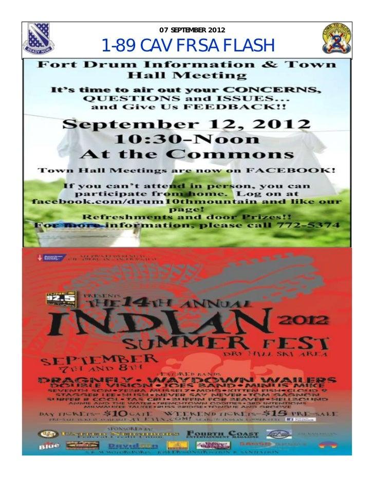 07 SEPTEMBER 20121-89 CAV FRSA FLASH
