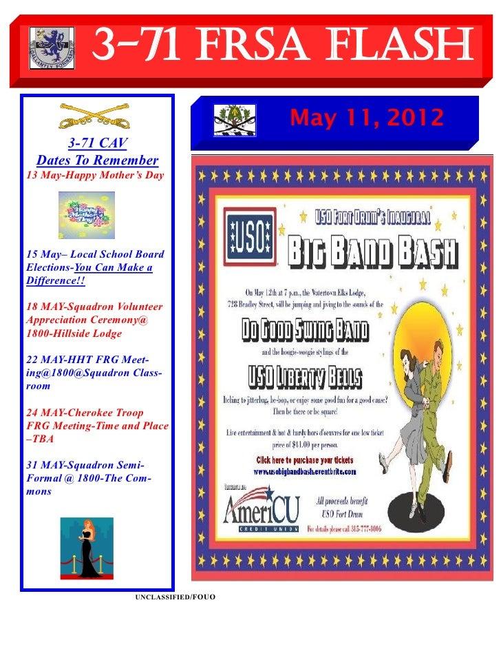 FRSA Flash 11 May 2012
