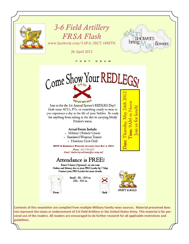 FRSA Flash 27 April 2012