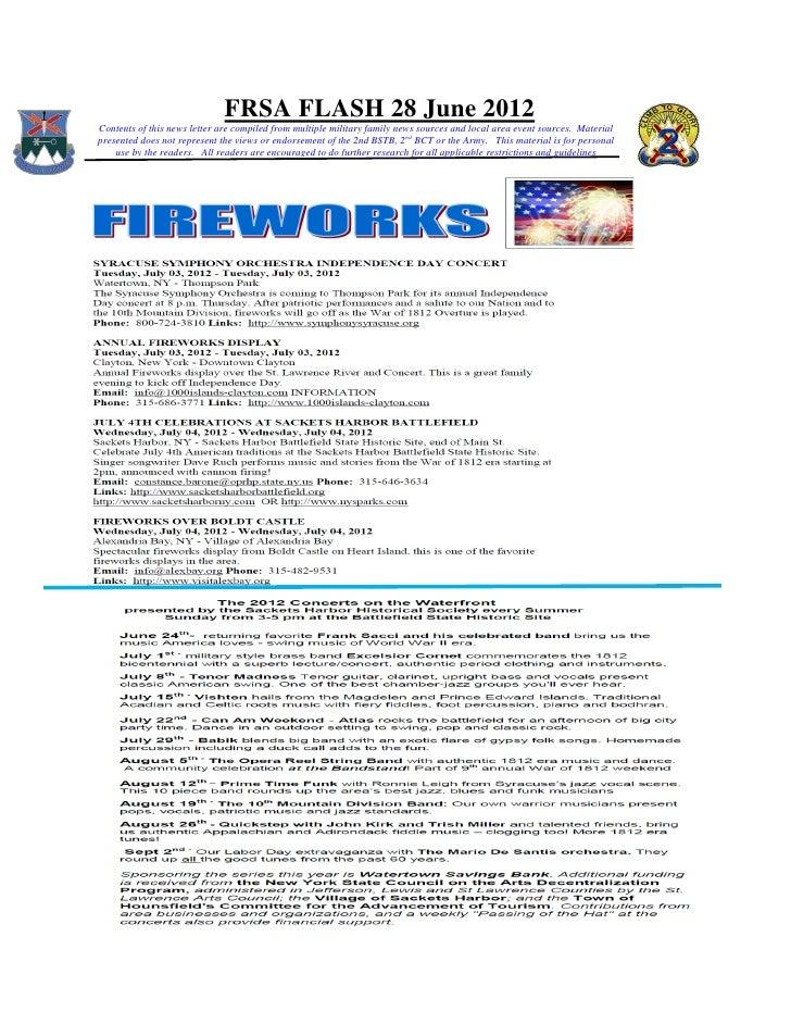 Frsa flash 28 june 2012