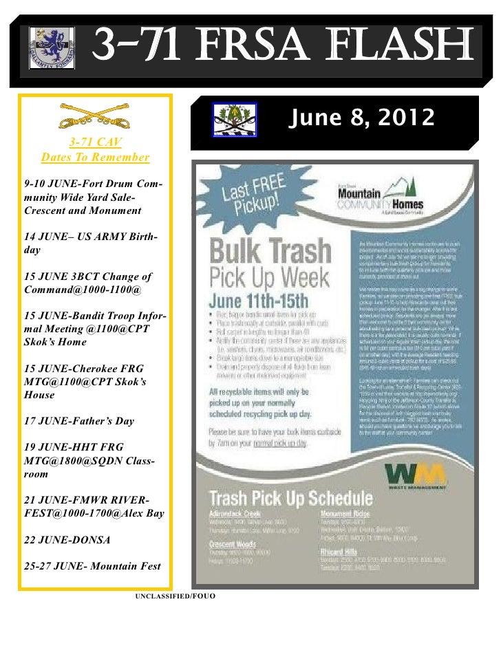 3-71 FRSA Flash                                           June 8, 2012        3-71 CAV   Dates To Remember9-10 JUNE-Fort D...