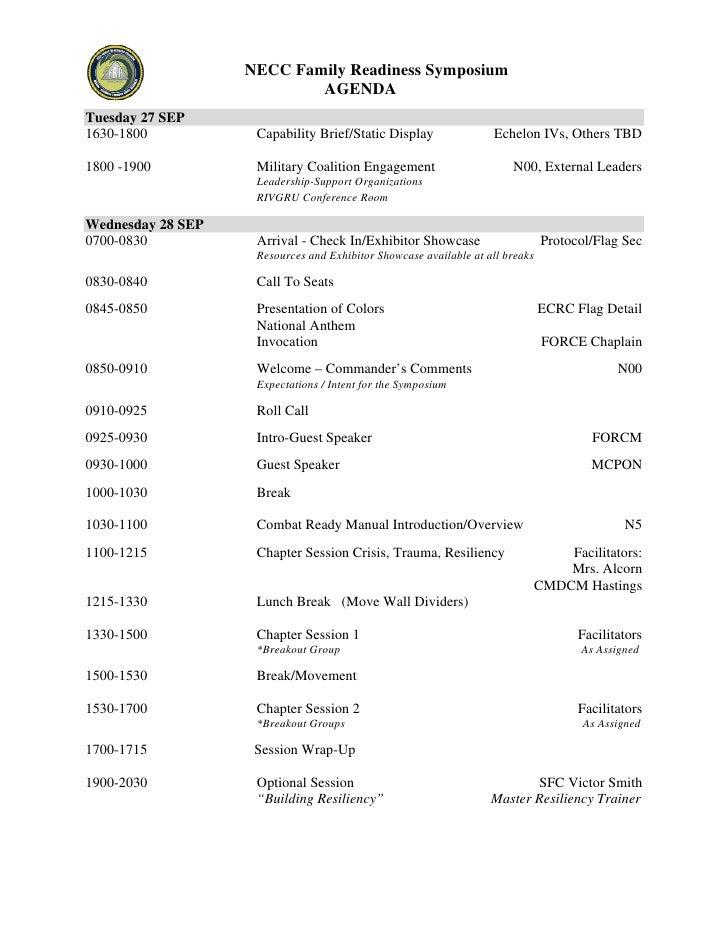 FRS Agenda PDF Version