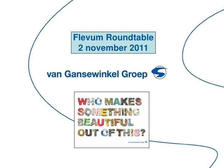 Flevum Roundtable 2 november 2011