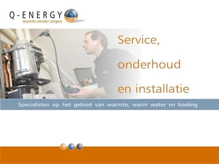 Frt   120126 - presentatie - ketenintegratie in verduurzaming - q-energy
