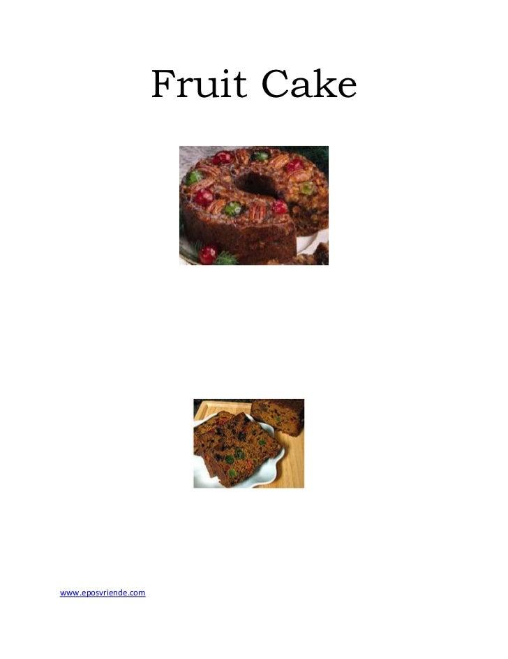 Fruit cake   www eposvriende com