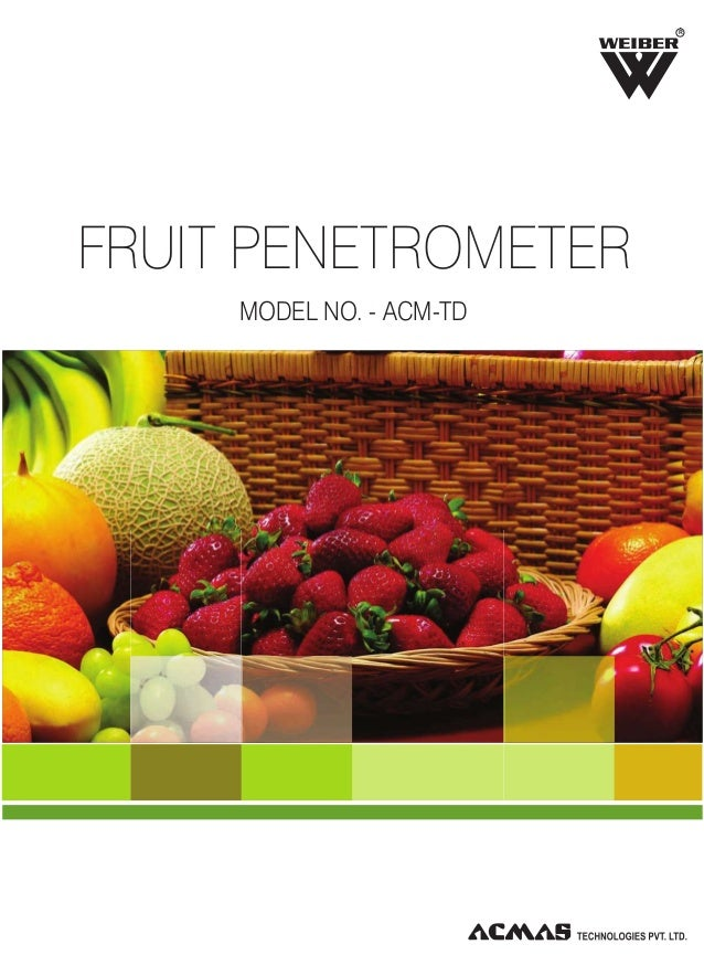 Fruit Penetrometer by ACMAS Technologies Pvt Ltd.
