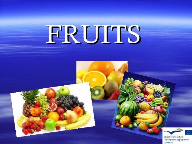 FRUITSFRUITS