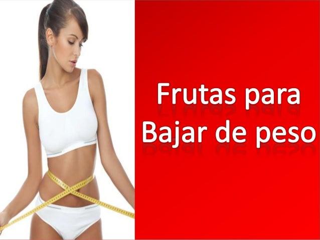 Las frutas ayudan a bajar de peso de manera significativa reduciendo el consumo de calorías y produciendo saciedad por más...