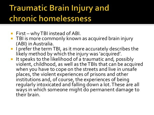dating someone with an acquired brain injury Anger and aggression are common behavioural concerns after acquired brain injury and can include irritability, short temper, verbal or physical outbursts or violence, abusiv e language (swearing) or threatening behaviour in more severe cases, it can take the form of physical self-harm or harm to other people and property.