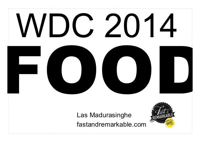 WDC2014 FOOD - DesignDialogues v2.0