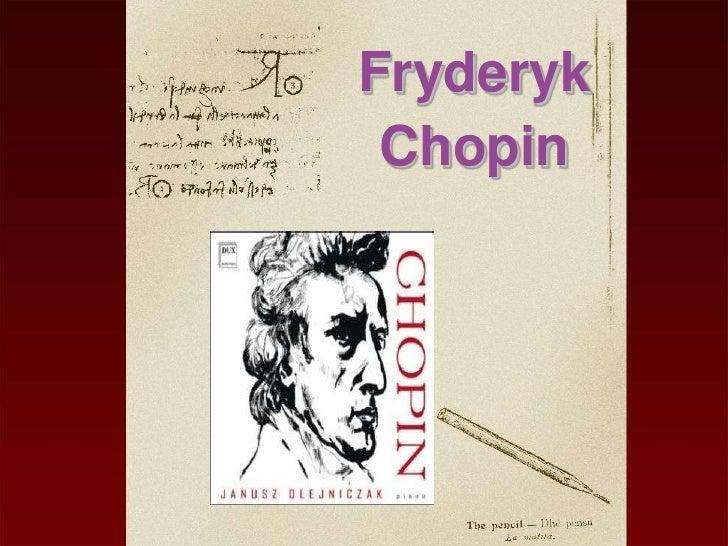 Fryderyk Chopin Prezentacja