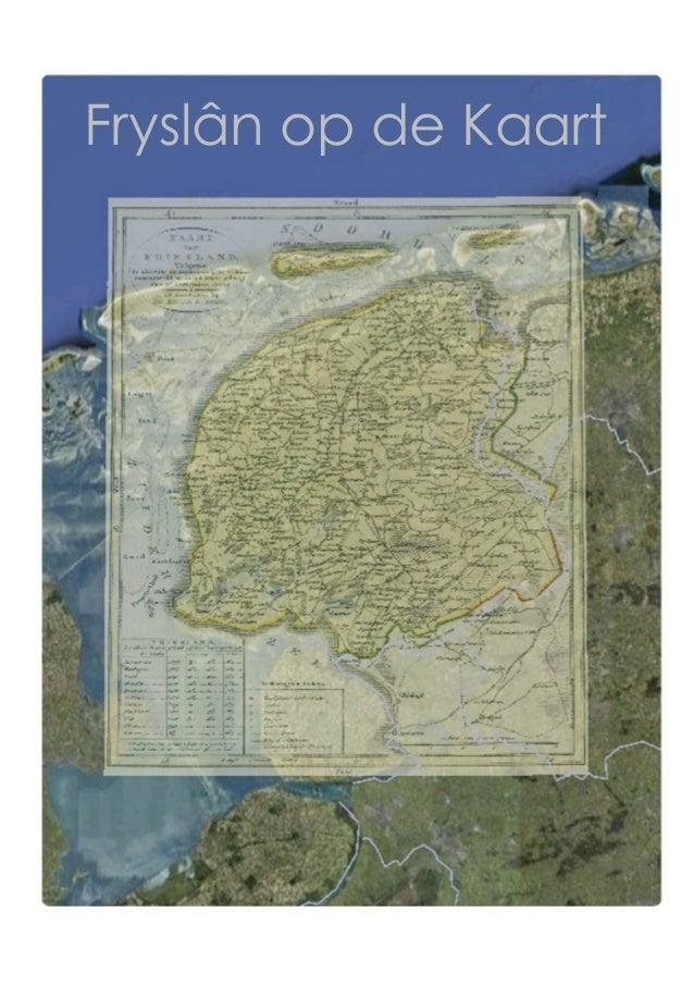 Fryslân op de kaart