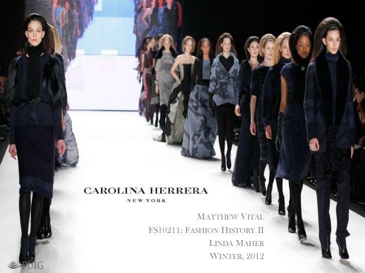FS10211 Carolina Herrera