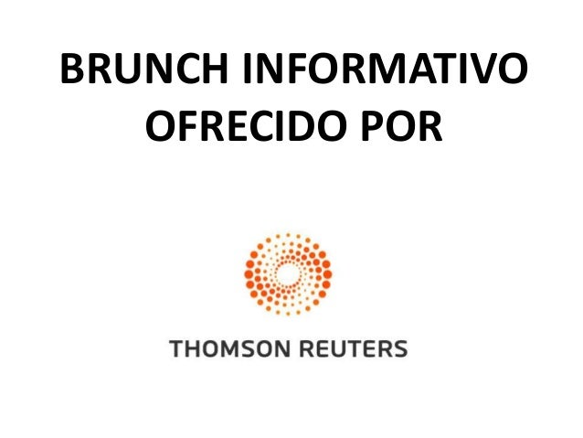 Web of Knowledge : The Citation Connexion - brunch informativo con Thomson Reuters