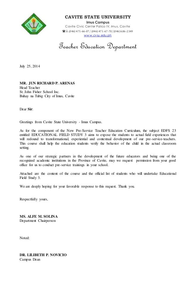 Complaint Letter Email School