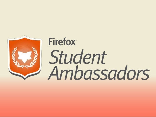 Individuals who are passionate about Mozilla and raise awareness about the many benefits of Firefox & other Mozilla produc...